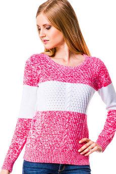 Женский розовый свитер Mondigo