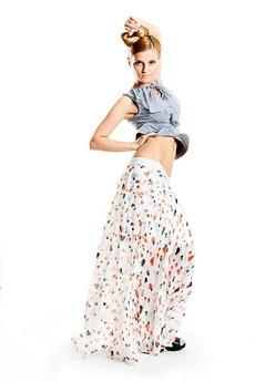 Шифоновая юбка в пол SUGAR