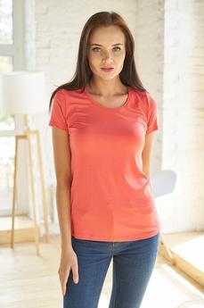 Простая женская футболка Шарлиз